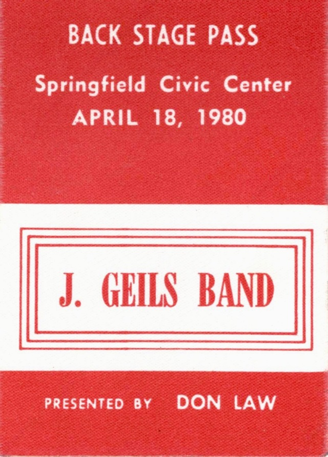 1980.april.18.springfield.civic.center.back.stage.pass.geils