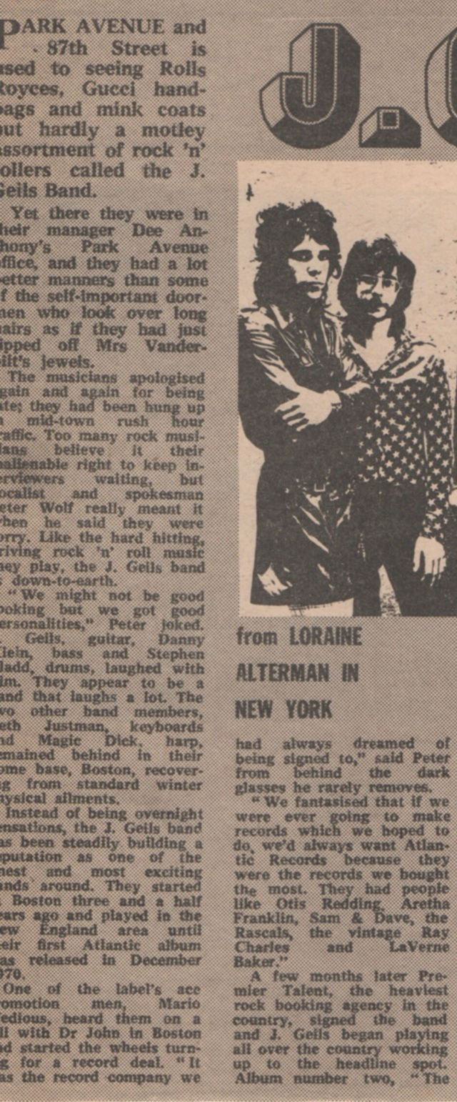 1972 - MELODY MAKER February 5th 02