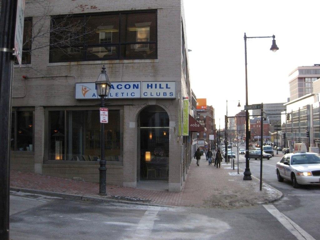 3 Hancock St, Boston, MA. Photo taken February 2009