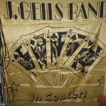 1972 - Gold And Black 'LIVE' In Concert 'Playing Cards Banner