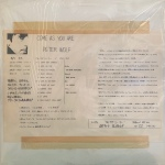1987 Japan White Label Test Pressing. Standard white sleeve with info sheet taped to front.
