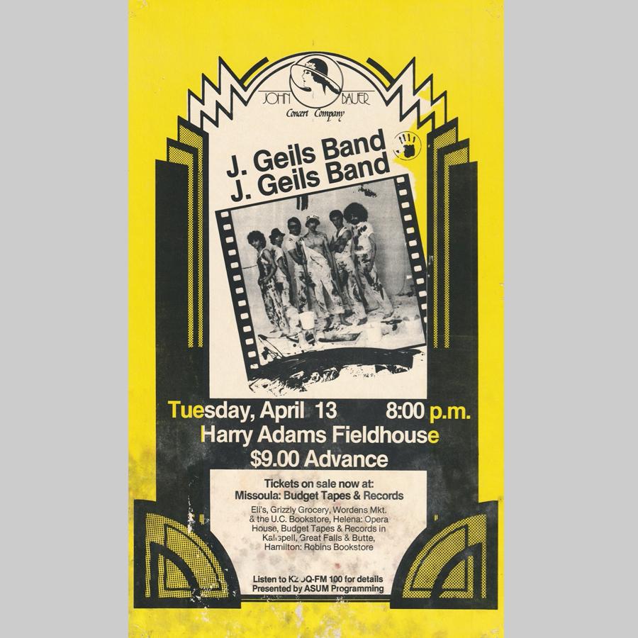 1982 - April 13th, Harry Adams Fieldhouse, Montana