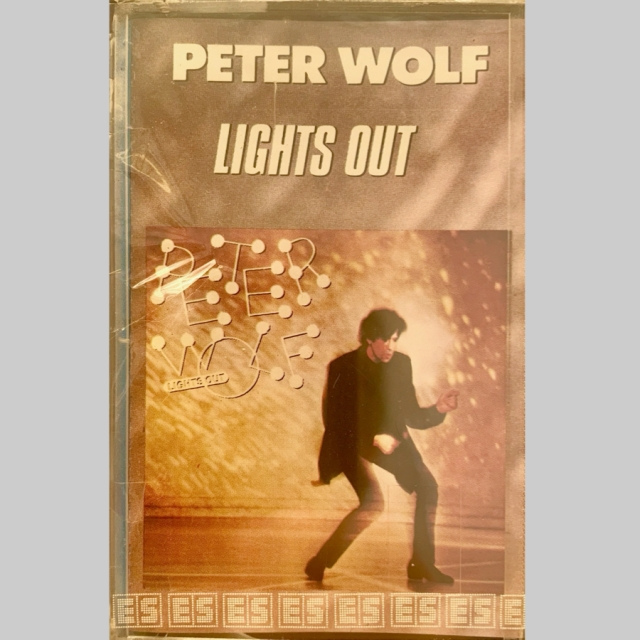 1984 - Peter Wolf, Lights Out, Italy