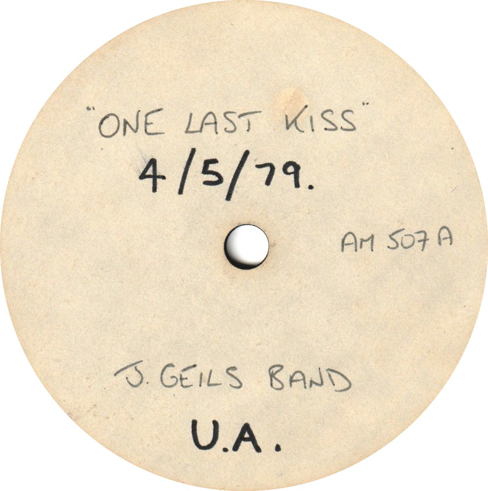 1979 - One Last Kiss, One-Sided Acetate, UK