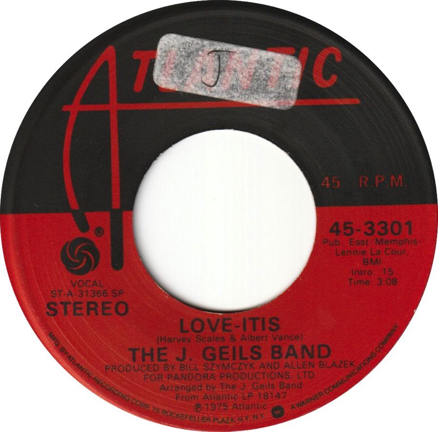 1975 - Love-Itis, Lido Musique Paris Picture Sleeve Import