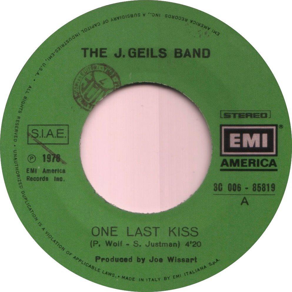 1978 - One Last Kiss / Sanctuary (Italy)